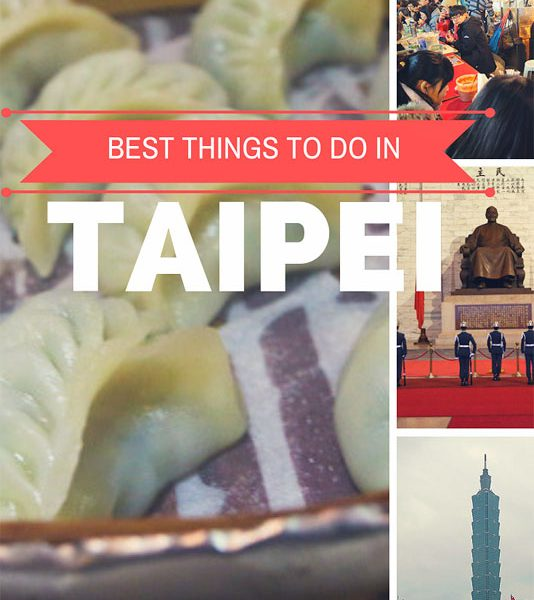 Travel Guide Taipei