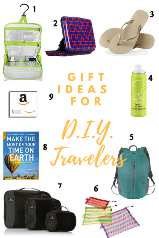 Gift Ideas for D.I.Y. Travelers, gift guide for travelers, gift ideas for travelers