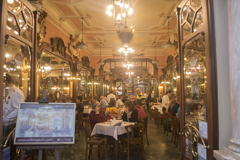 majestic cafe porto, vegetarian in porto, things to do inportugal