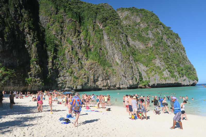 maya bay, ko phi phi tour, phi phi islands