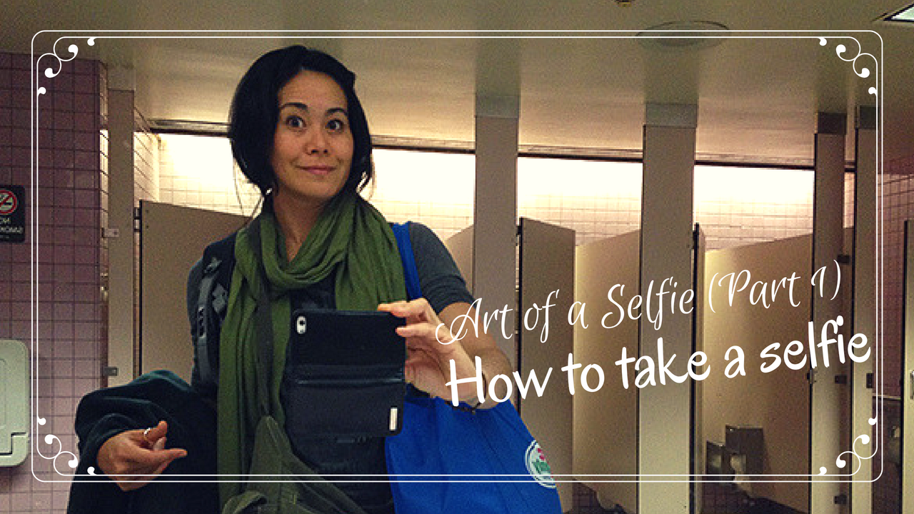 Art of a selfie, how to take a selfie