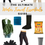 Winter Travel Essentials Guide, packing tips for winter