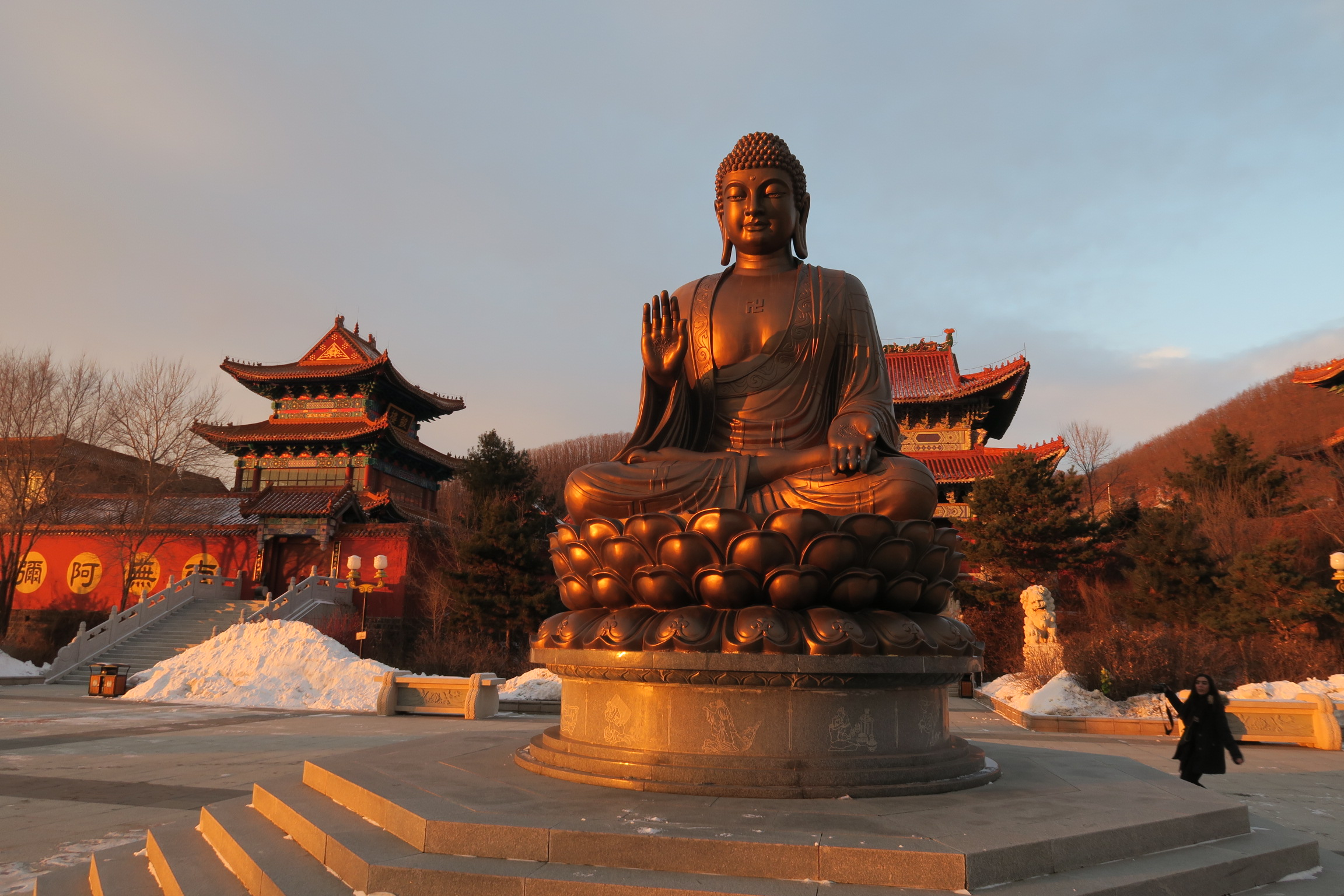 Dunhua City, Giant Buddha, Chinas largest buddha