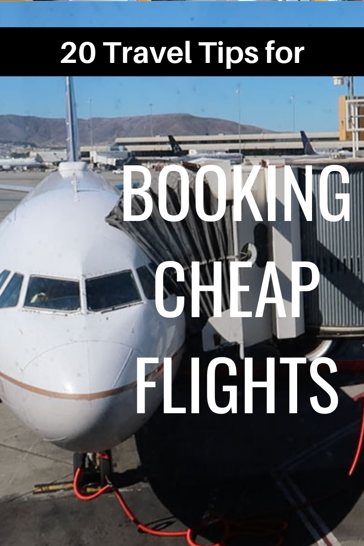 20 Travel Tips for Booking Cheap Flights