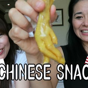 Chinese Snack Taste Test