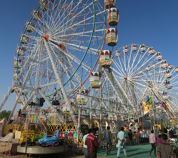Pushkar ferris wheel