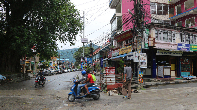 Pokhara town shops, pokhara shopping, things to do in pokhara