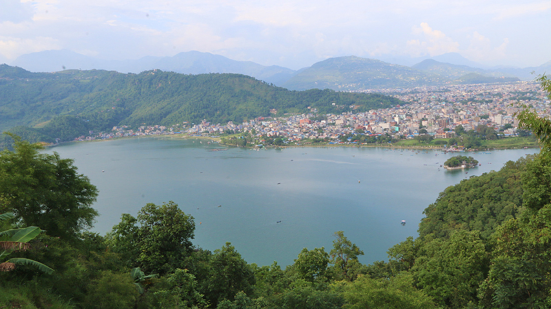 best view of pokhara, view of pokhara