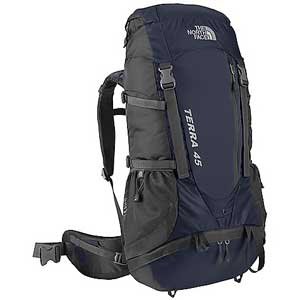 northface terra 45, best backpack for travel