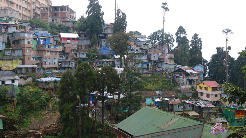 Darjeeling hillside apartments