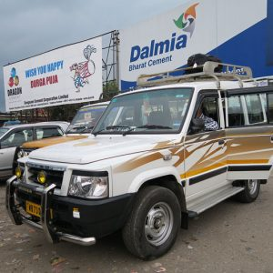 Jeep taxis, New Jaigalpuri Station