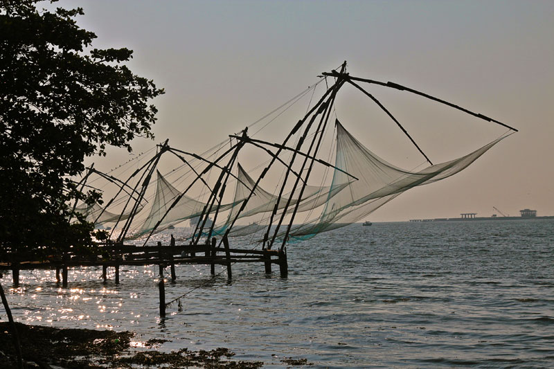 Fort Cochin, Cochin nets, cochin fishing nets