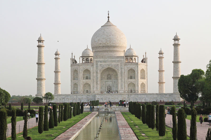 Taj Mahal in Agra, top wonders of the world