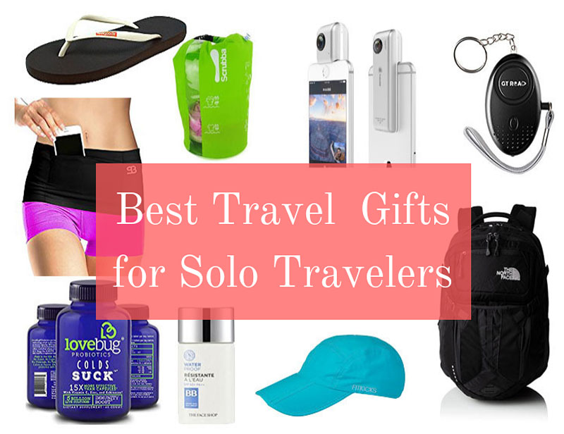 Best travel gifts for solo travelers