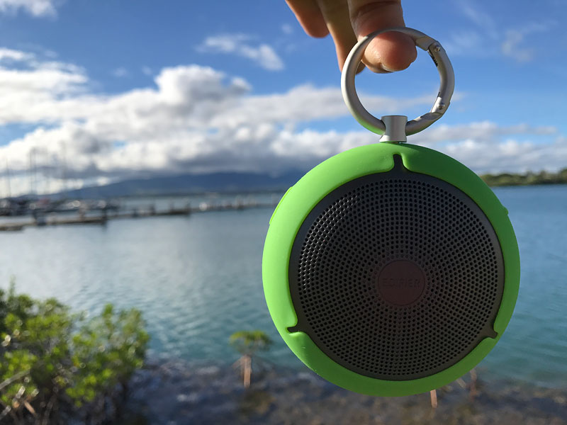 Outdoor Travel Speaker, Edifier MP100 Travel Speaker, edifier travel speaker review