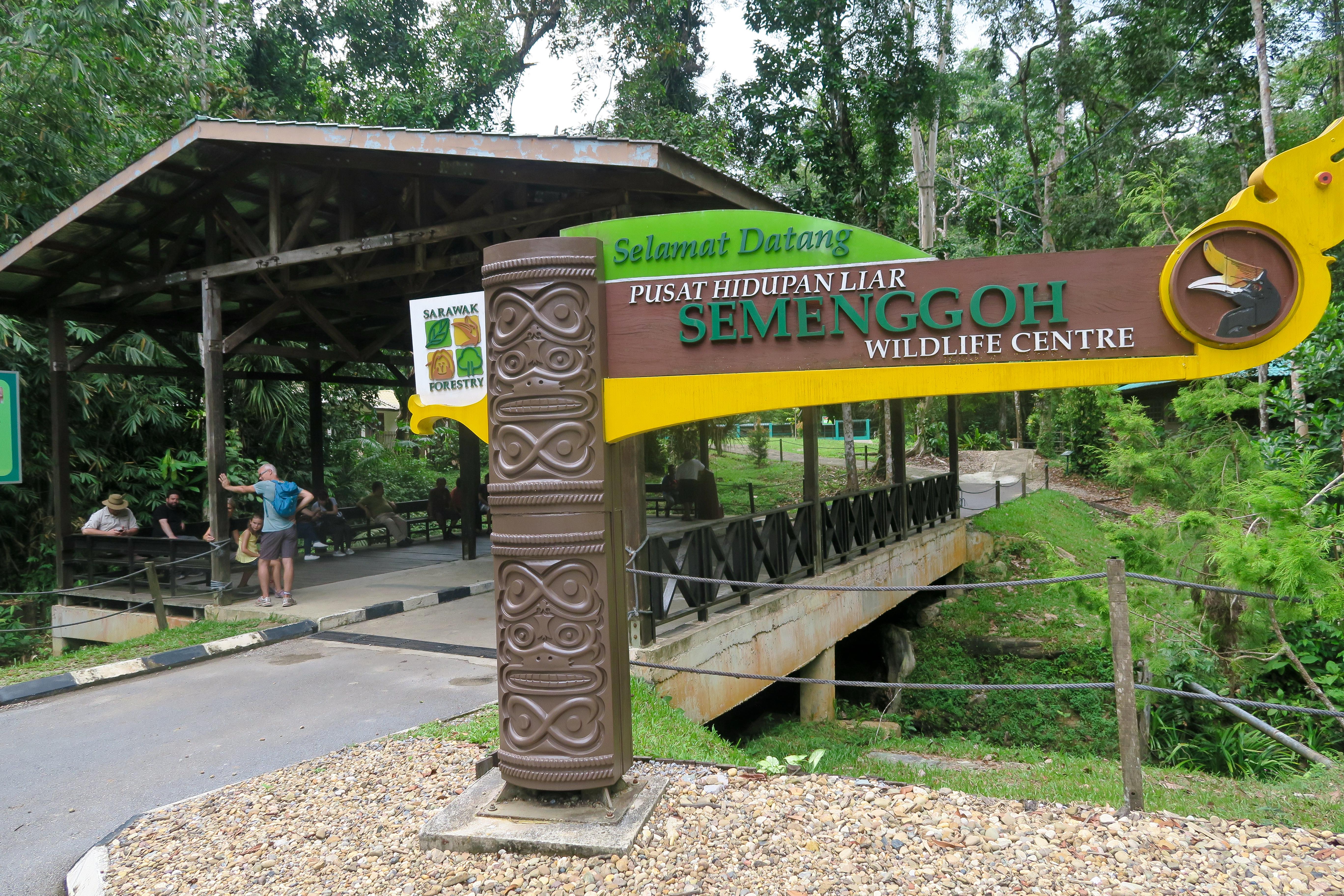 semenggoh wildlife reserve kuching