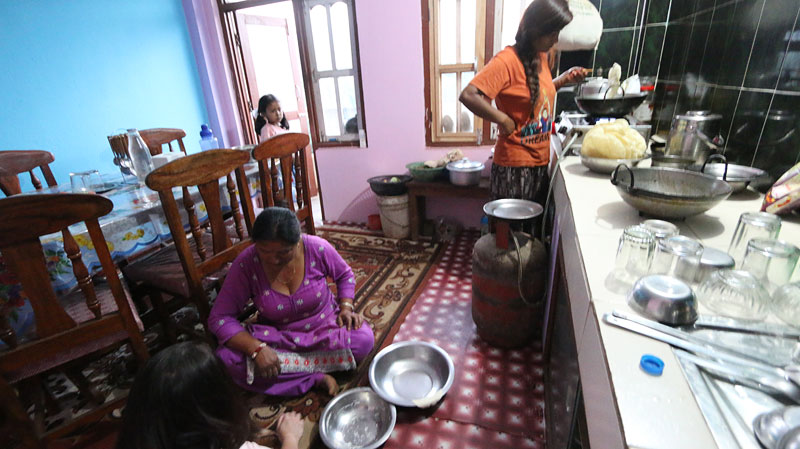 homestays in nepal, nepal homestays, panauti homestay
