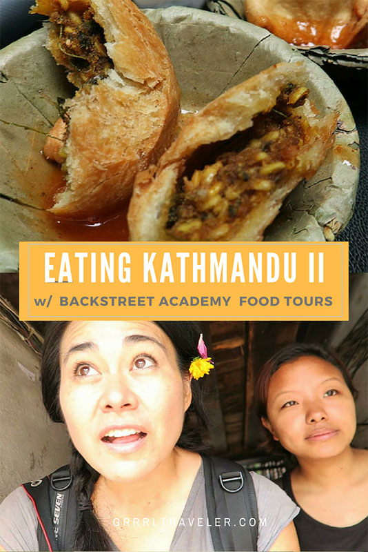 food tour kathmandu, backstreet academy tours