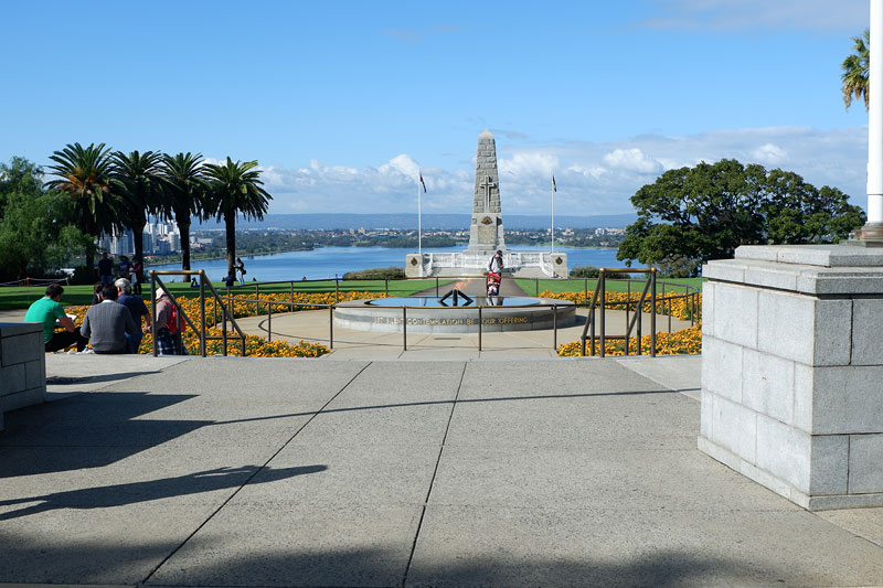 Perth travel guide, ANZAC Memorial King's Park, 48 hours perth