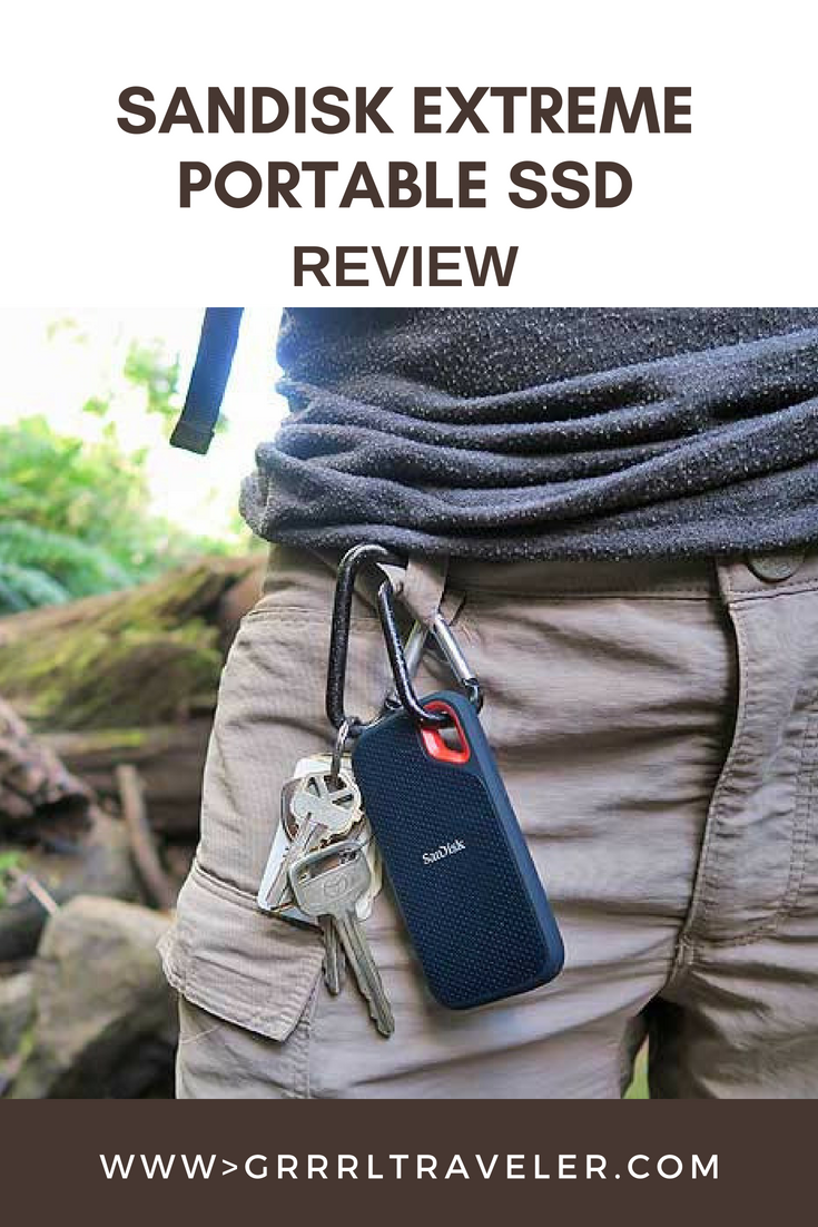 Sandisk Extreme Portable SSD Review 2