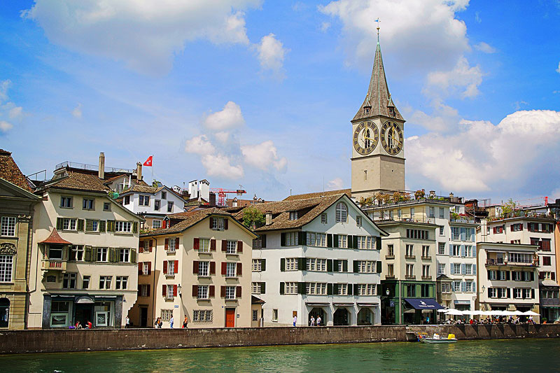 Old Historical Town Zurich