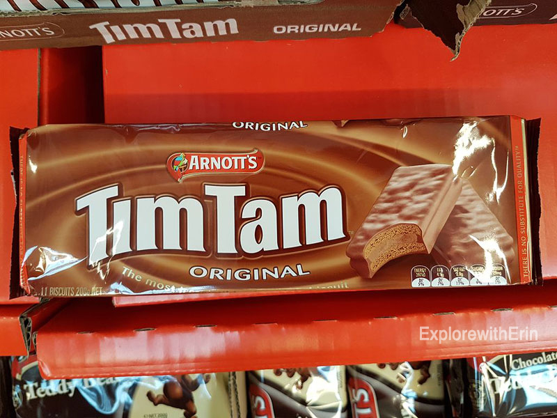 Australian Foods, Must Try foods Australia, tim tam