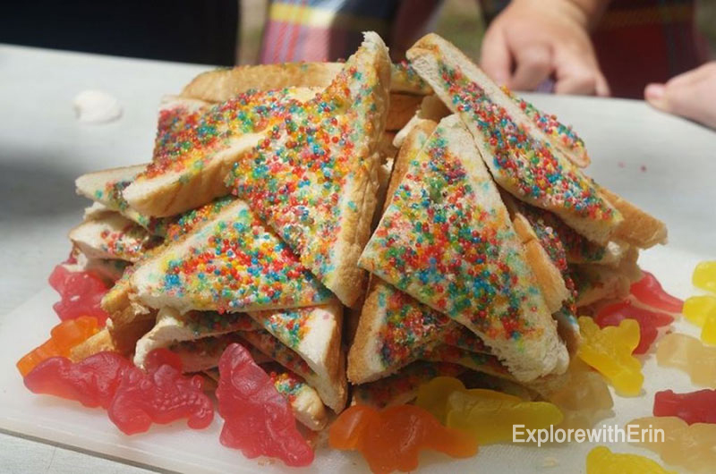 fairy bread, Australian Foods, Must Try foods Australia,