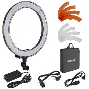 neewer diva ring led smd ring light dimmable, cheap diva ring light set