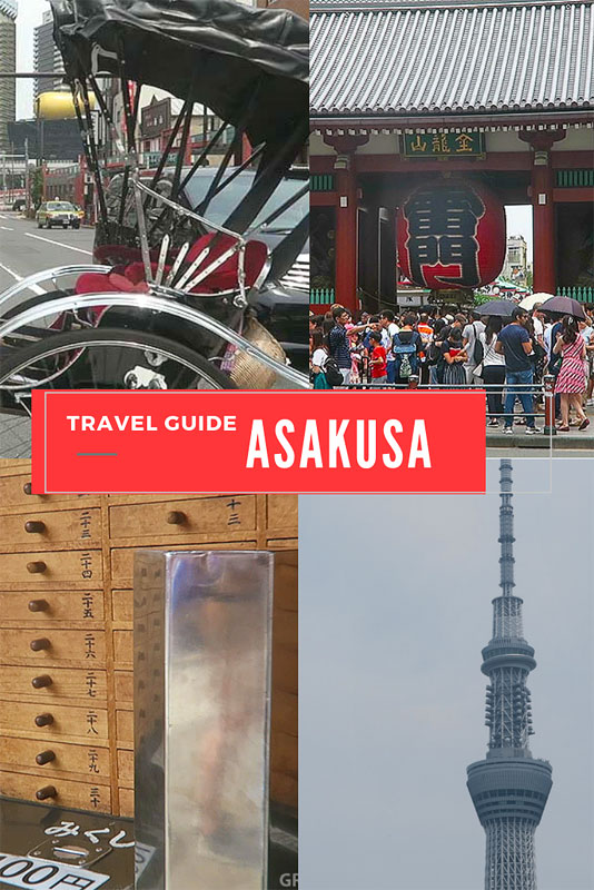 asakusa travel guide, asakusa attractions