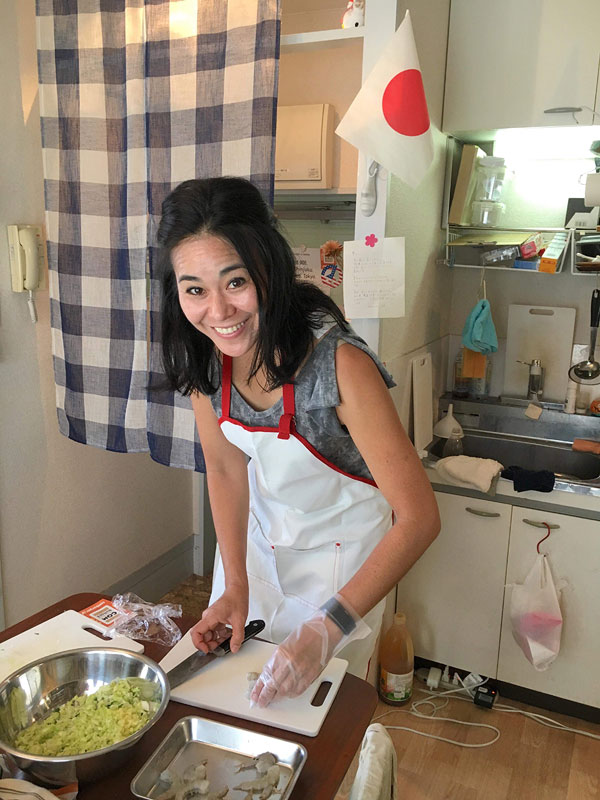 Cooking class with Local Bites Japan, Japanese home cooking