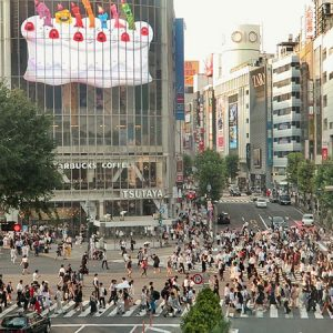 shibuya crossing, best instagrammable places in tokyo