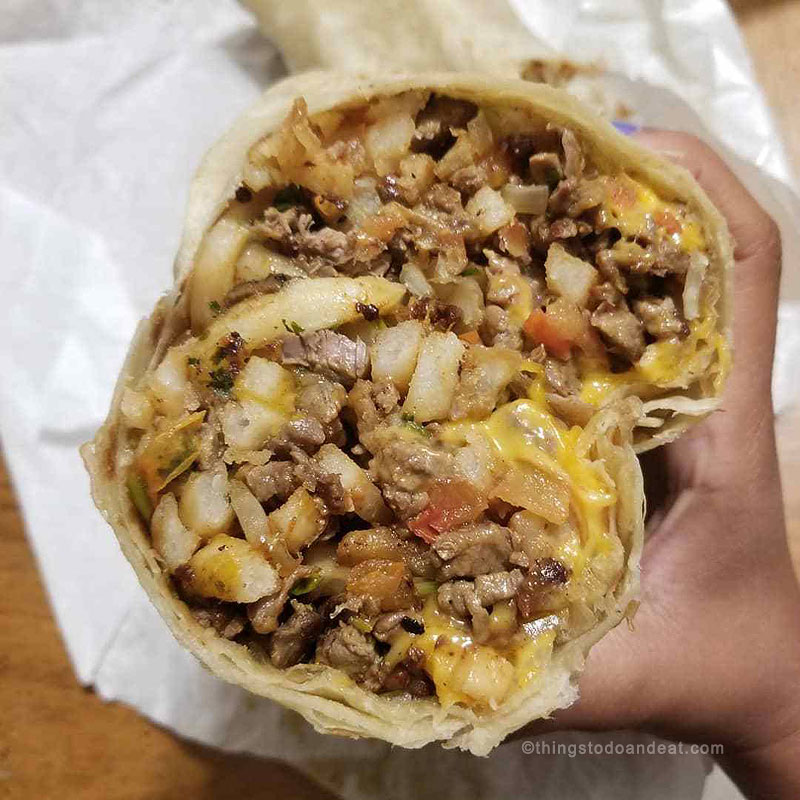 california burrito, best foods to eat in san diego