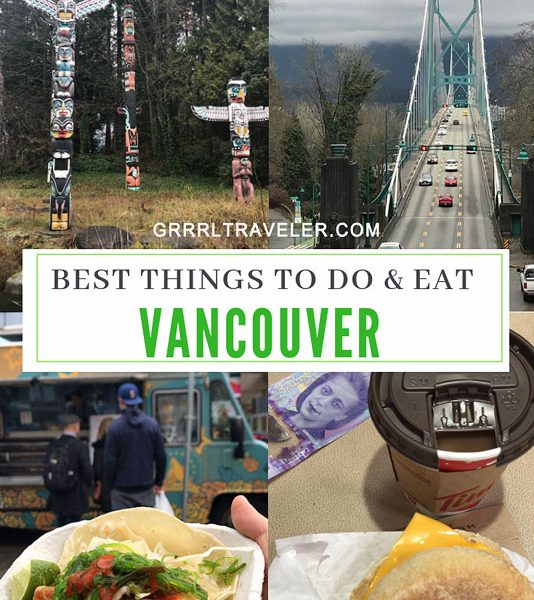 vancouver travel guide, best things to do vancouver