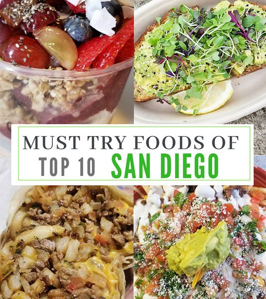 Best foods to eat in san diego