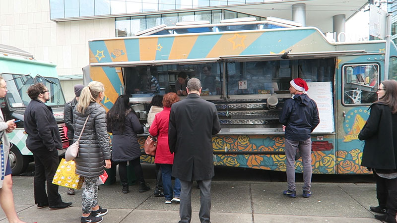 tacofino truck downtown vancouver