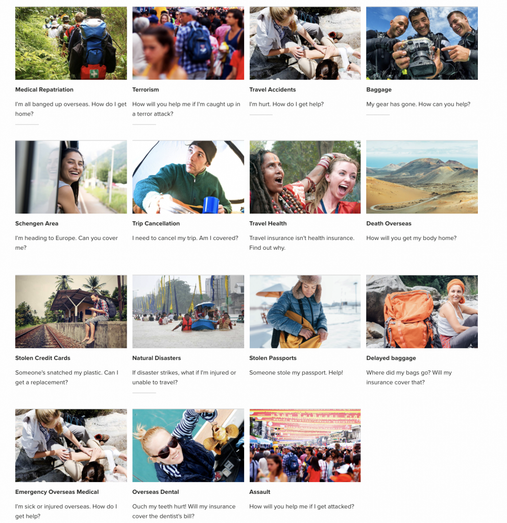 what world nomads insurance covers