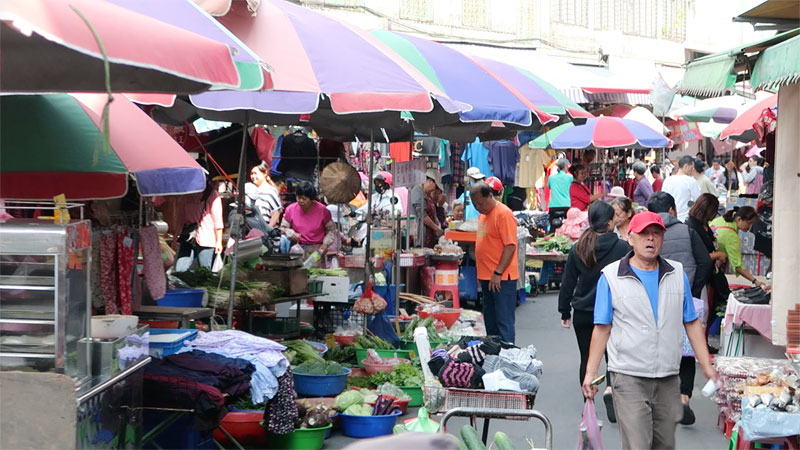 daxi traditional market