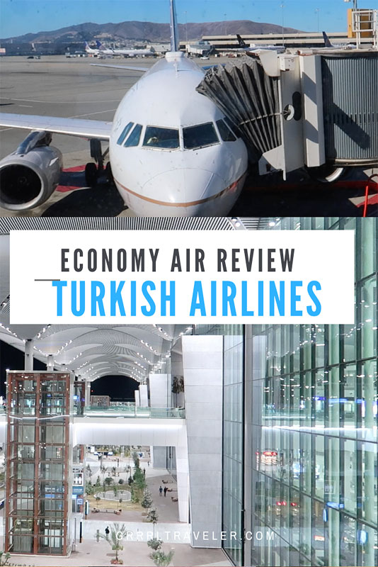 turkish airlines Economy Class review