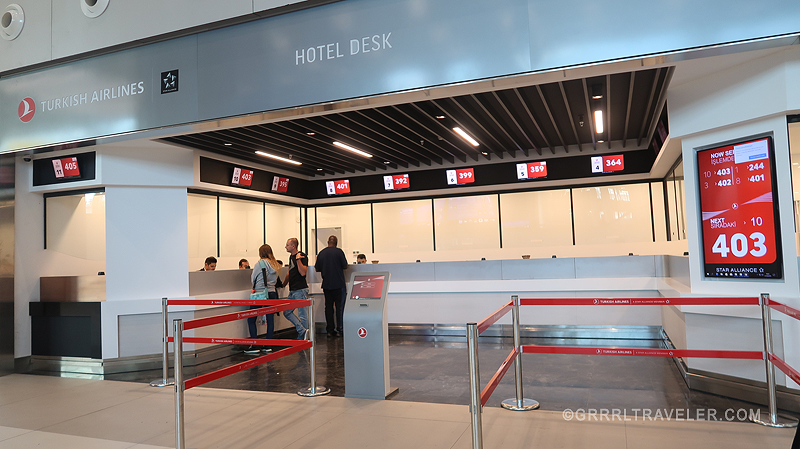Turkish Airlines hospitality New Istanbul Airport