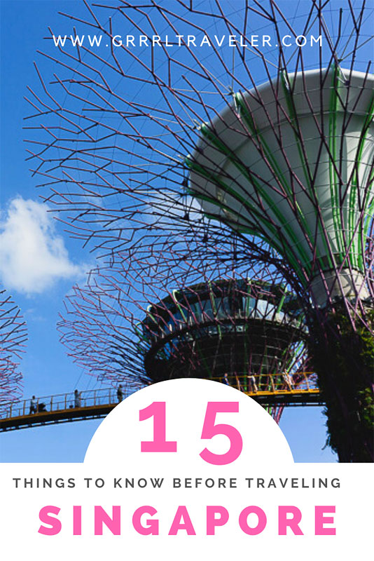 Things to Know Before Traveling Singapore