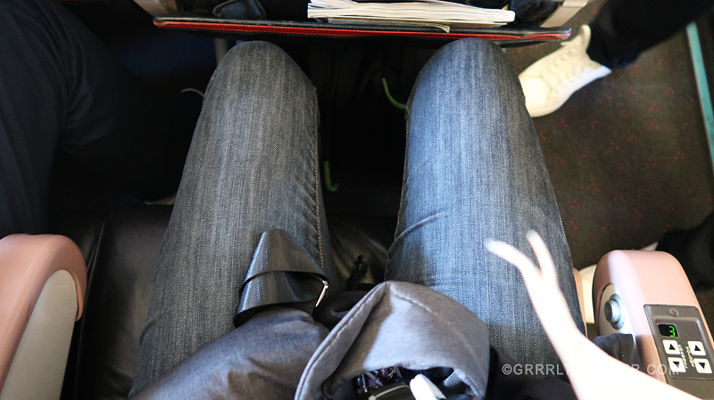 turkish airlines economy seat space