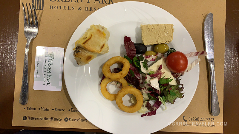 turkish airlines transit hotel meal