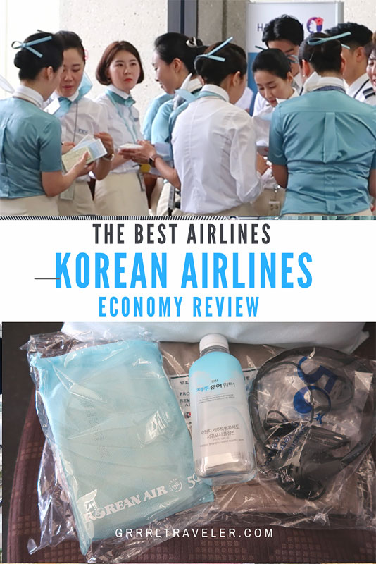 korean airlines review the best airlines in the world