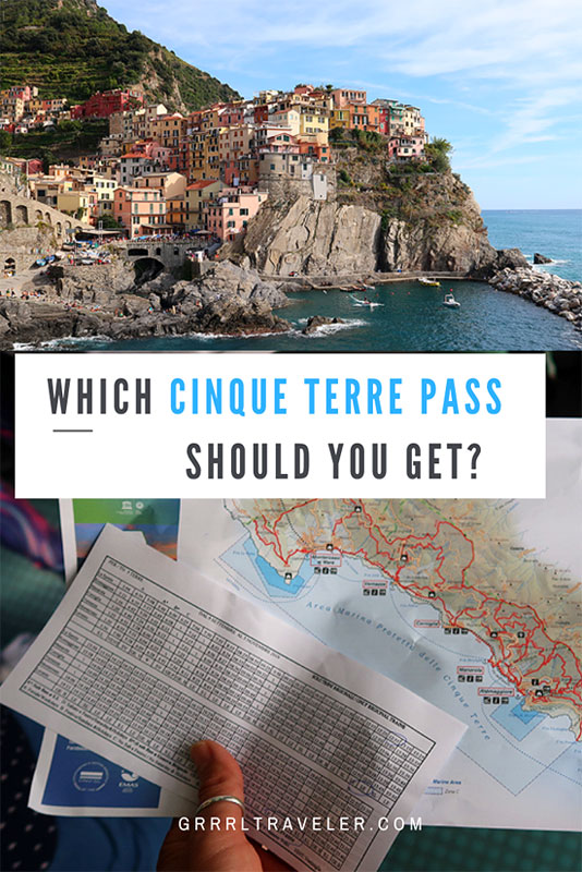 WHICH CINQUE TERRE PASS SHOULD YOU BUY