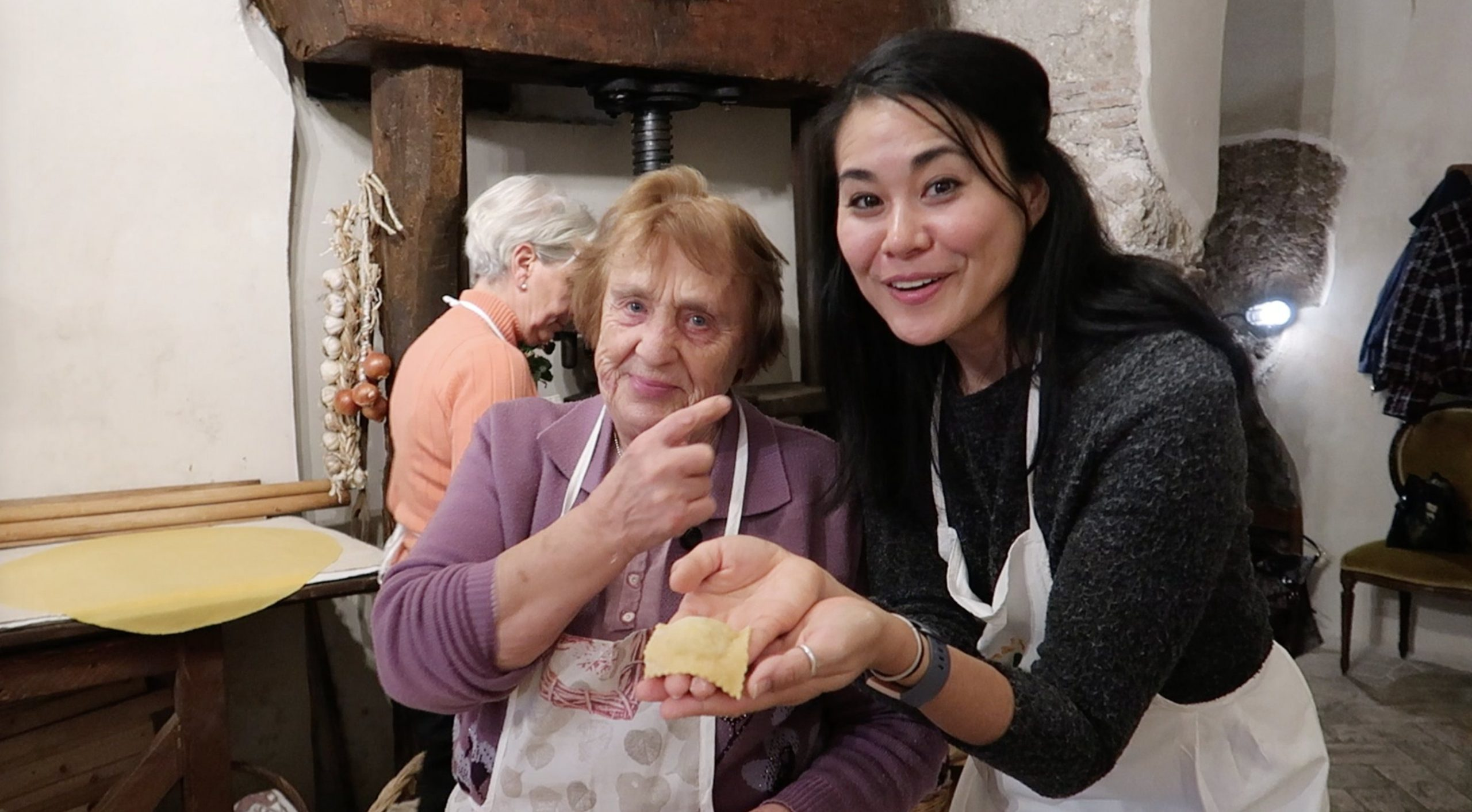pasta making class with nonna nerina