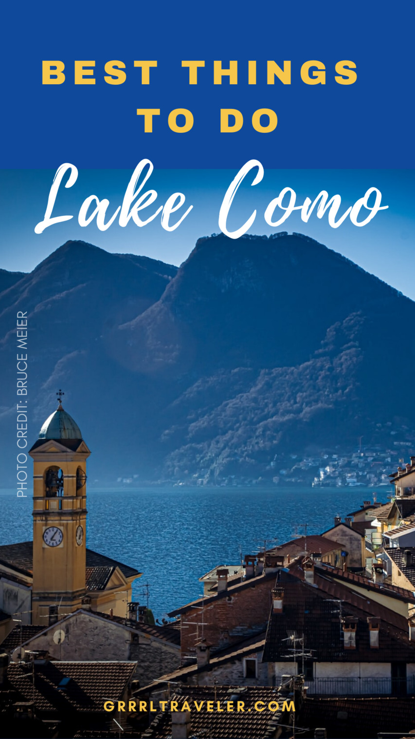 Lake Como travel guide; best things to do in Lake Como
