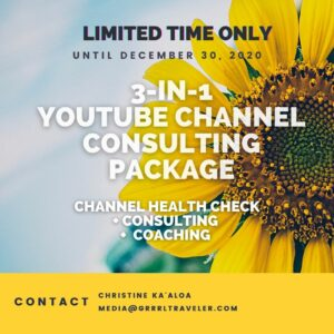 youtube coaching consulting package