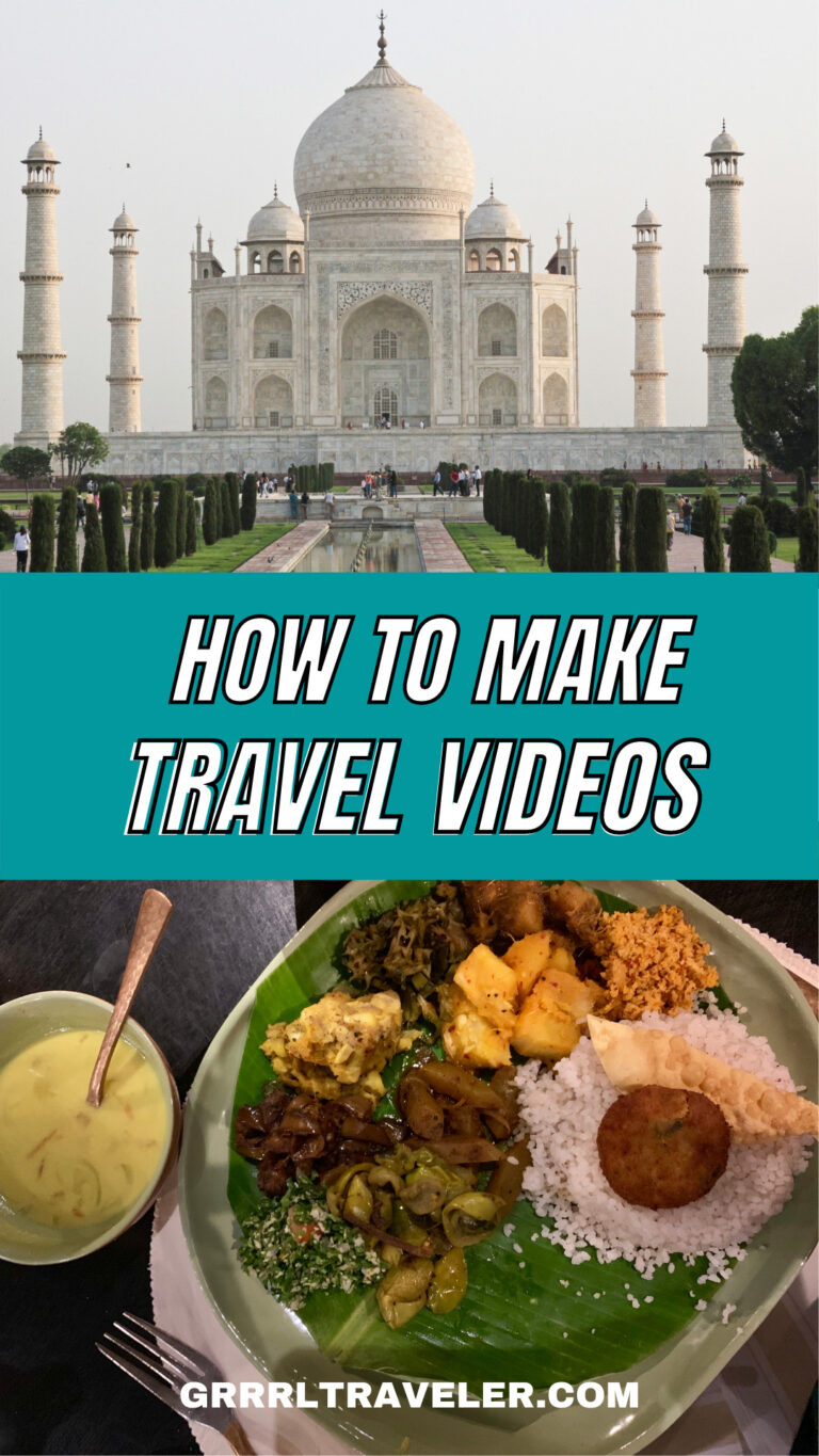 HOW TO MAKE TRAVEL VIDEOS for Beginners story