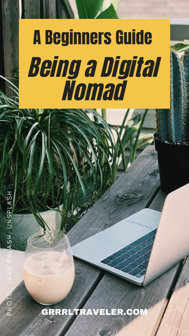 Being a Digital Nomad in 2021